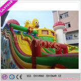 Im Freien Kinder aufblasbarer Funcity Spielplatz-riesiger aufblasbarer Vergnügungspark