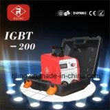 De Machine van het Lassen van de omschakelaar MMA met Plastic Geval (igbt-120/140/160/180/200)
