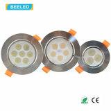 7W 반점 빛 Dimmable 자연적인 백색 고품질 LED Downlight