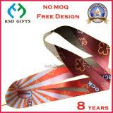 Custom передача тепла печать Award медальон строп предохранительного пояса