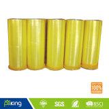 Хорошее качество Желтоватый БОПП клейкой упаковочной ленты Jumbo Ролл
