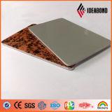 El panel compuesto de aluminio del modelo de la piedra del certificado de RoHS (AE-501)
