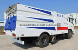 Цена тележки дороги Dongfeng LHD 4X2 Sweeper180HP чистое