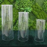 """5.5 vase acrylique clair à cylindre de """" X 11.8 """""""