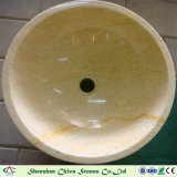 Раковина мытья тазика раковины Sotne бежевая мраморный для кухни/ванной комнаты