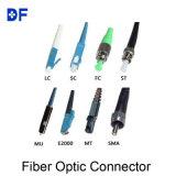 Connettore ottico del PC APC dello Sc della fibra duplex di simplex 0.9mm 2.0mm 3.0mm