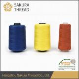Marca de fábrica Oeko-Tex 100 de Sakura 1 hilo de coser ignífugo de la clase en fábrica china