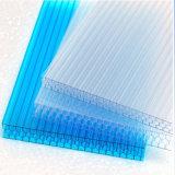Panneaux de polycarbonate de nid d'abeilles colorés par fournisseur de la Chine Greenhouse10mm
