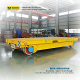 Carro eléctrico ferroviario del transporte de la fábrica para la dirección del tubo de acero
