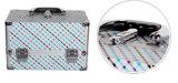 يصنع [جرد] أسلوب يطوي ألومنيوم ضعف مفتوحة مستحضر تجميل صندوق