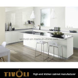 새로운 베니어 나무로 되는 부엌 단위 디자인 Tivo-0238h