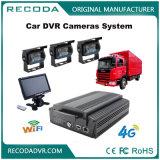4 canais H. 264 GPS HDD 1080P veículo Mdvr para ônibus escolar, monitoramento de caminhão
