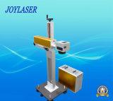 Máquina de la marca del laser del vuelo para la gran cantidad de la producción