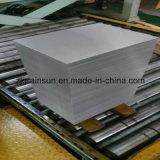 Через катушку снадарта ИСО(Международная организация стандартизации) алюминиевую
