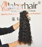 加工されていないフランス人の波の毛の拡張105g (+2g) /Bundle自然なブラジルのバージンの毛のイタリアの波100%の人間の毛髪は等級9Aを編む