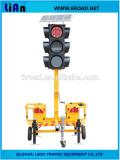 Solar móvil luces de señal de tráfico