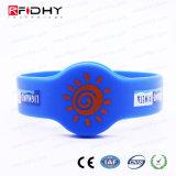 Wristband blu di prezzi di fabbrica RFID nella figura della vigilanza
