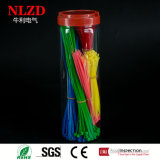 Assortiment de cravate Zip Tie 1200 PCS / Jar Mixed different color
