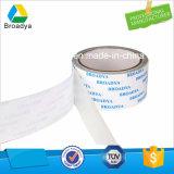 Dois Lados do tecido de base solvente acrílico fita adesiva (140mic/DTS512)