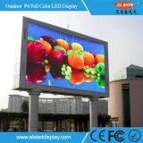 고해상 P4 조정 풀 컬러 스크린 옥외 LED 게시판