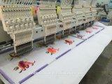 A máquina principal do bordado do estilo de 12 Bead&Sequin Barudan para a indústria usou-se