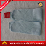 Einfache Deisign normale Farben-Wegwerf-Polyester-Baumwollsocken