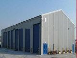 ISOの9001:2008は工場構築の鉄骨構造の小屋を組立て式に作った