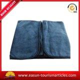 カスタム固体濃紺カラー毛布