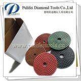 Tampone a cuscinetti per lucidare del diamante di ceramica bagnato flessibile della resina