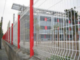 Maschendraht-Zaun geschweißter Zaun-Sicherheitszaun