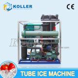 Máquina grande del tubo del hielo con el mantenimiento mínimo 10tons/Day