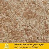 ブラウンの大理石の石造りのタイルによって艶をかけられる完全な磨かれたタイル