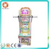 Máquina de juego de fichas de la lotería del simulador del rescate
