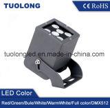 12W正方形LEDのシュートライトTuolongの屋外の建物の照明