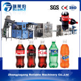 작은 병에 넣어진 자동적인 탄산 음료 청량 음료 충전물 기계