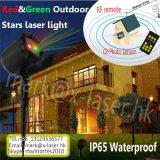 Do fornecedor claro de China da luz do duende da felicidade luz ao ar livre de giro barata do jardim das luzes de Natal do chuveiro do laser da estrela