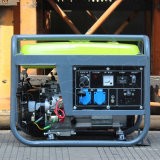 バイソン((e) 3kw 3kVA中国) BS4500dガソリン発電機の工場価格の銅のセリウムの公認の携帯用無声イタリアの発電機