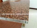 Painel de alumínio do favo de mel da grão quente da pedra da venda para materiais de construção
