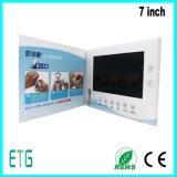 7-дюймовый HD/IPS экран ЖК-видео рекламные открытки