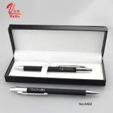 Promocional Metal Clik Pen Negro Color Business Pen con Caja