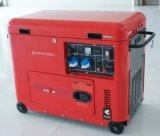 Bisonte (China) BS6500dse 5kw 5kVA 5000W conjunto de generador diesel portable 10HP de la potencia del hogar de la garantía de 1 año para la venta