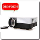 Portable Mini Full HD Home Theater 3D LED Support PC HDMI VGA Entrée GM50 Projecteur DVD avec Bluetooth WiFi