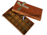 Коробка конфеты Hotsale бумажная, коробка шоколада, коробка подарка с низкой ценой качества верхнего сегмента