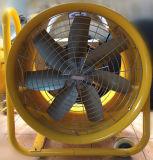 Ventilatore industriale con le rotelle