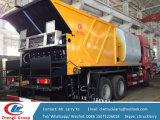Sinotruck HOWOのアスファルトタンクおよび砂利タンク販売のための同期チップシーラー