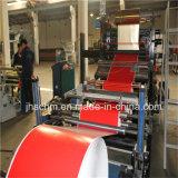 OPP/PP/PVC/PE zusammengesetztes Material-heiße Folien-Aushaumaschine