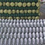 Rete metallica rivestita del diamante del PVC/rete fissa collegamento Chain