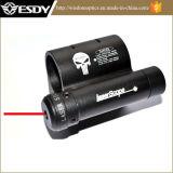 vue tactique de POINT de laser de rouge de longueur de laser de 7.3cm