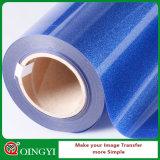 Prezzo basso di Qingyi Factroy e grande vinile di scambio di calore di scintillio di qualità per l'indumento