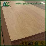 Madera contrachapada de Okoume /Bintangor /Birch y madera contrachapada de la suposición para los muebles de la fábrica de Linyi